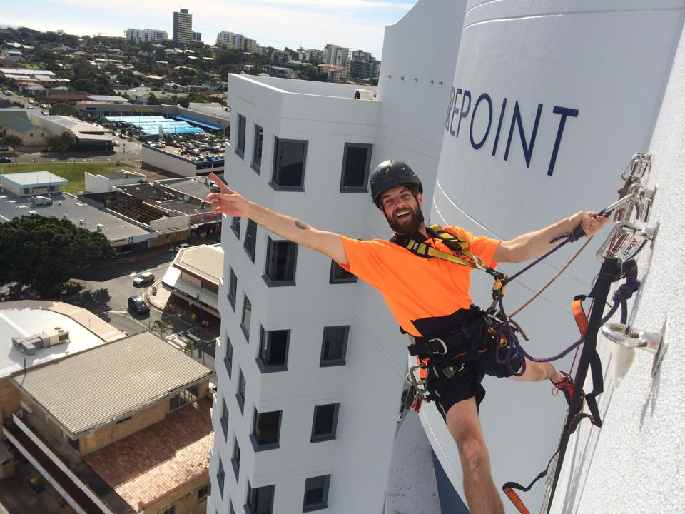 Commercial Abseiling Services - Alltech Industrial Abseilers