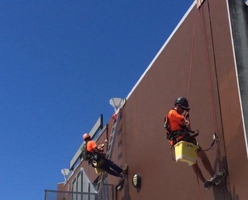 Commercial Painting - Alltech Abseilers rope access experts
