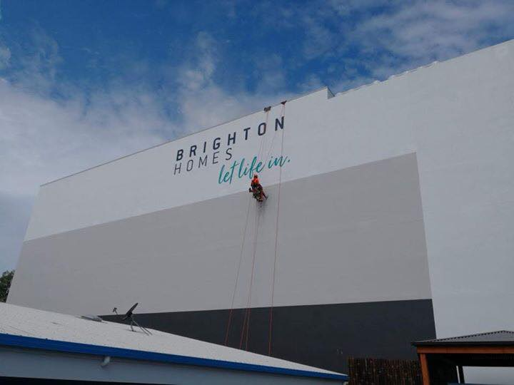 Commercial Painting Abseilers - painting brighton homes building