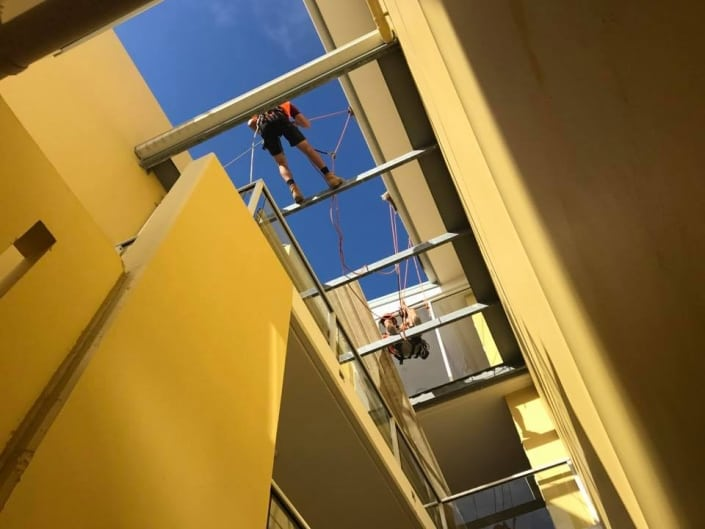 Height Safety Installations Brisbane - Alltech Abseilers Commercial