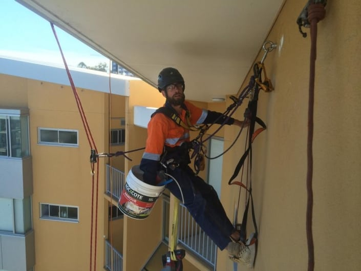 Our Services - Alltech Abseilers offering painting, window cleaning, restorations