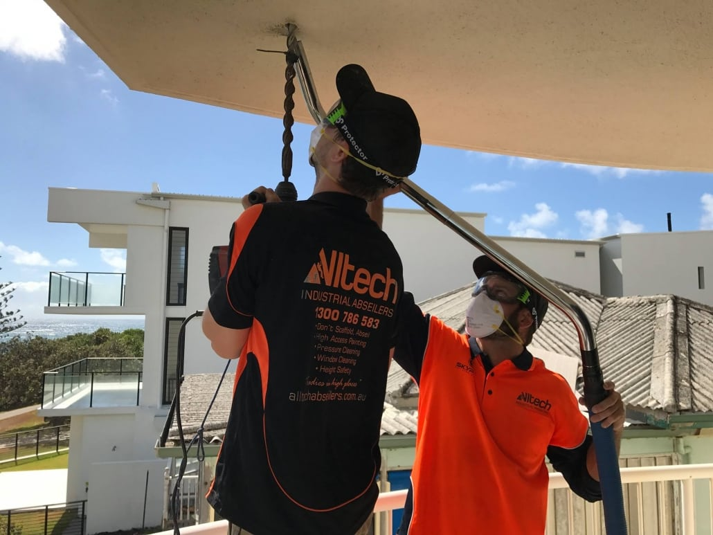 Professional Height Safety Installations Brisbane - Alltech Abseiling