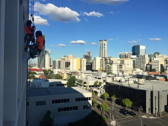 Rope Access Projects - two Alltech Abseiler workers in action