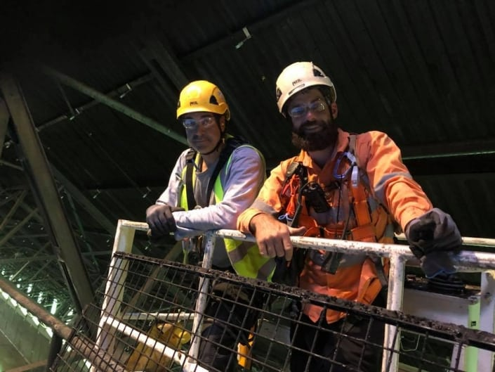 Shutdowns - Alltech Abseilers, mining experianced rope access team