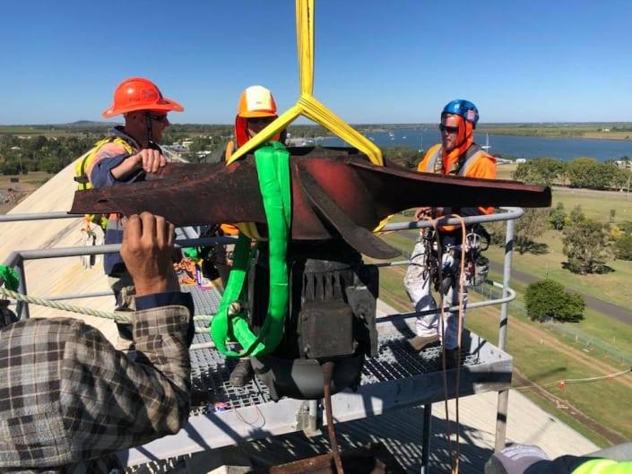 Shutdowns Brisbane - Maintenance, repairs using rope access