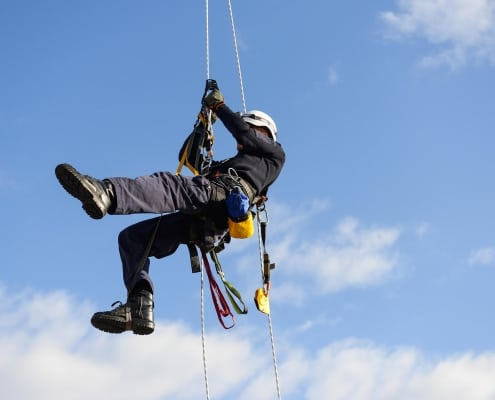 The Sky is The Limit - All Tech Abseilers best commercial rope access company