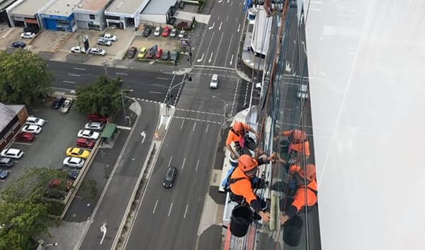 Commercial Window Cleaning Rope Access - High Access Specialist