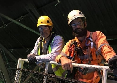 Mining Rope Access - Shut Down Professionals