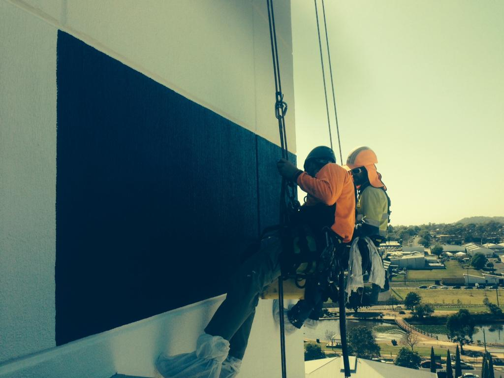 Rope Access Services Brisbane - Alltech Abseilers Rope Access Workers