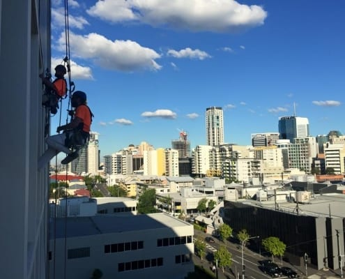 Hi Rise Rope Access Window Cleaning Services - Hire Industrial Abseilers