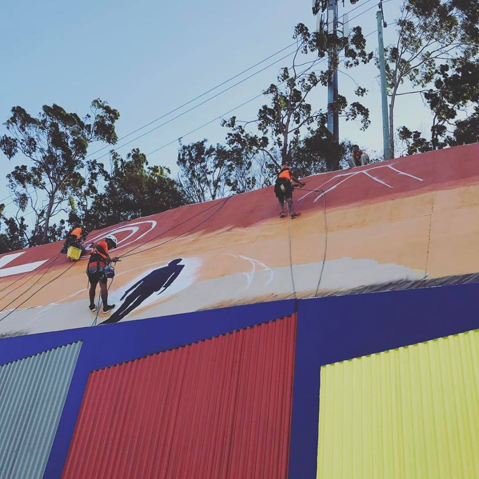 Commercial Painting | Industrial Abseiling Brisbane | Alltech