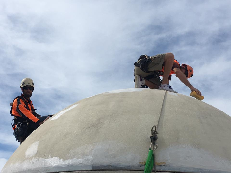 Rope Access Industrial Abseilers Commercial Painting Repairs Hotel - Sunshine Coast