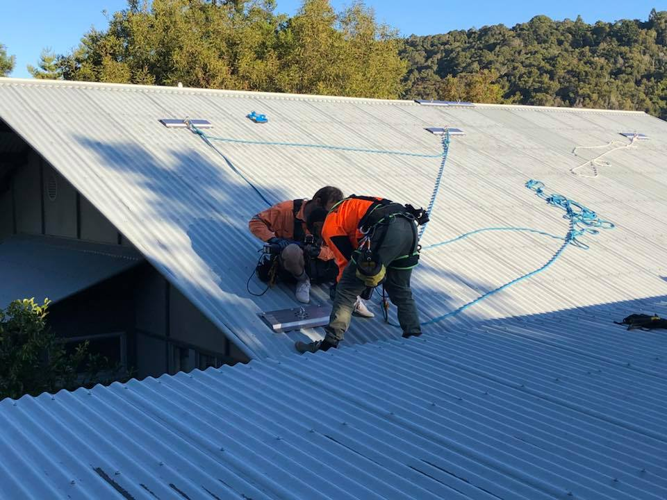 Rope Access Roof Restorations Colourbond Re Roofing - Industrial Abseilers for Hire