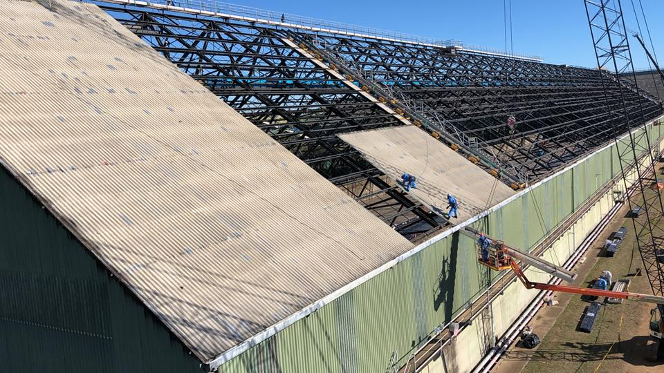 Rope Access Roof Restorations Factory - Building Shutdown Service
