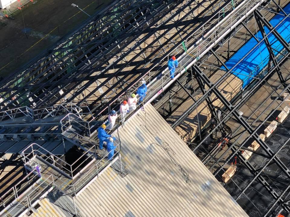Rope Access Roof Restorations Industrial - Shutdown Service Brisbane