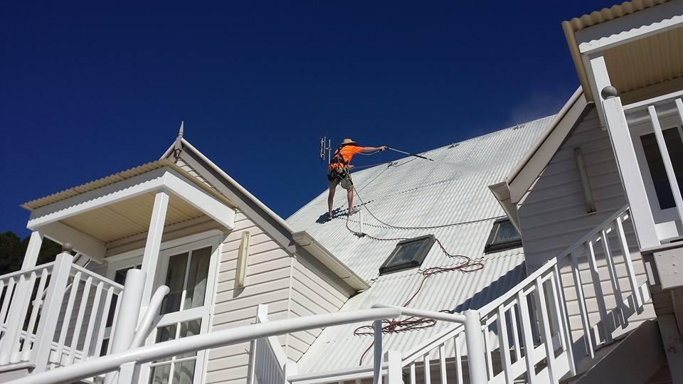 Rope Access Roof Restorations Queenslander - Commercial Painters Brisbane