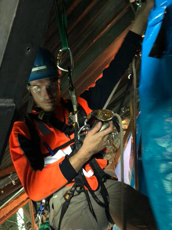 Shutdowns Industrial Abseilers Australia - Alltech Abseilers Rope Access Services