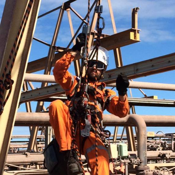 Shutdowns Industrial Abseilers Rope Access - Mining Sector Experts