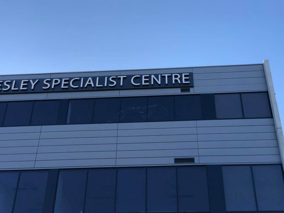 Signage Installation Rope Access Solutions - Professional Abseilers, High Rope Trade Services