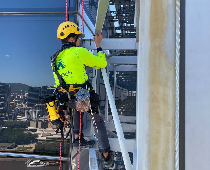 Rope Access Building Inspection Brisbane
